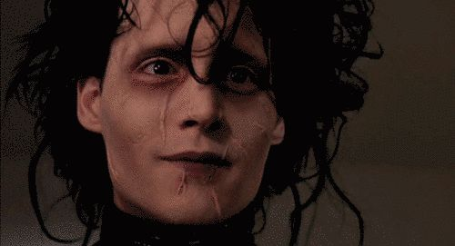 "But when Thompson explained that Edward was based on her dog, everything clicked into place for him. | 31 Facts You Probably Don't Know About ""Edward Scissorhands"""