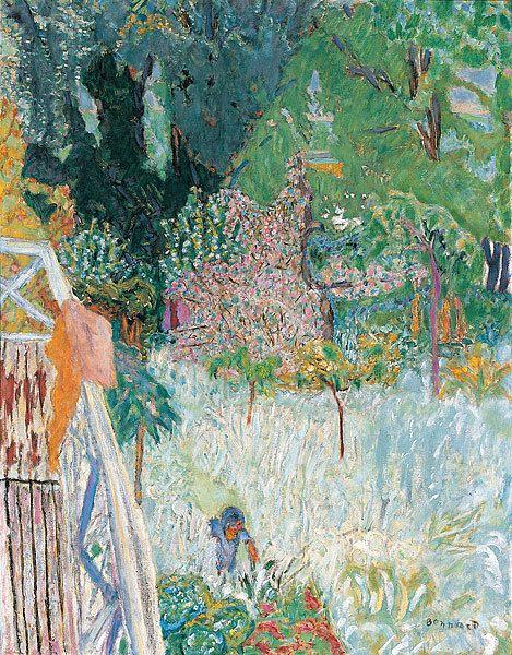 Pierre Bonnard, Balcony at Vernonnet, 1920