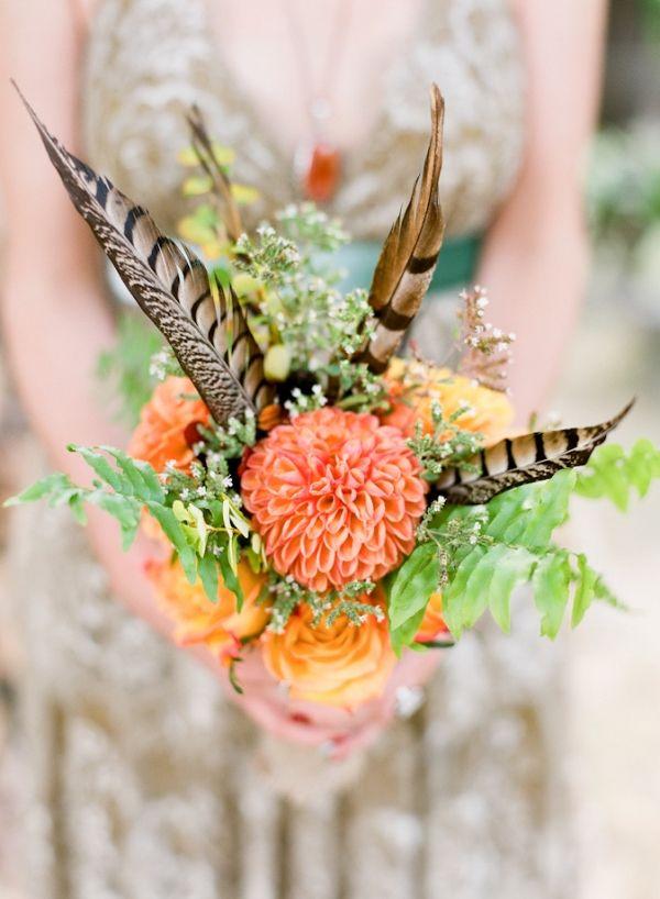 Piume e fiori