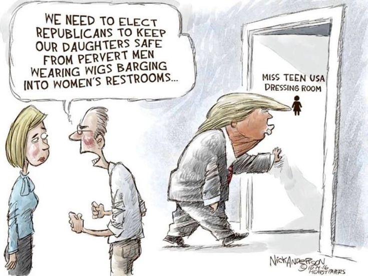 Election 2016 political cartoons | Page 2 | Spacebattles Forums