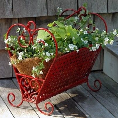 Garden Ideas Magazine april 2014 how to garden anywhere stunning small space makeovers and more Repurposed Garden Containers And Tons Of Great Ideas For Your Plants