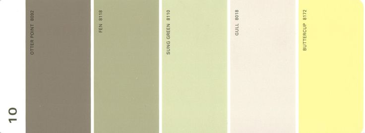 Martha Stewart Paint 5 Color Palette Card 10 Available From S H