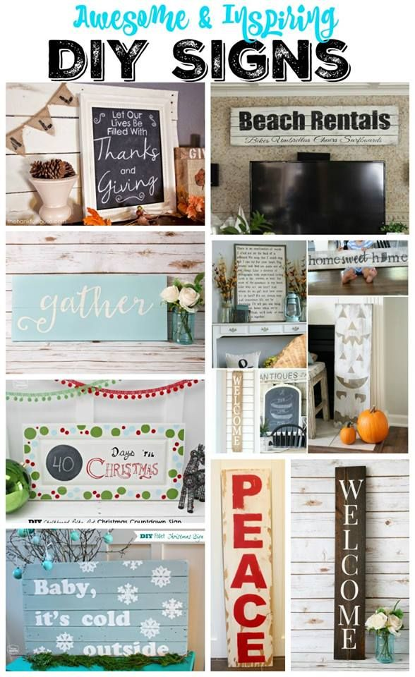 Love the pumpkin one!  How to Make a DIY Sign with a Silhouette Machine | JustAGirlAndHerBlog.com