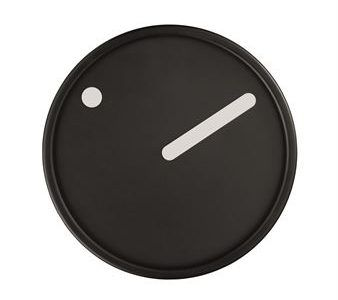 Picto_Wall_Clock_Black