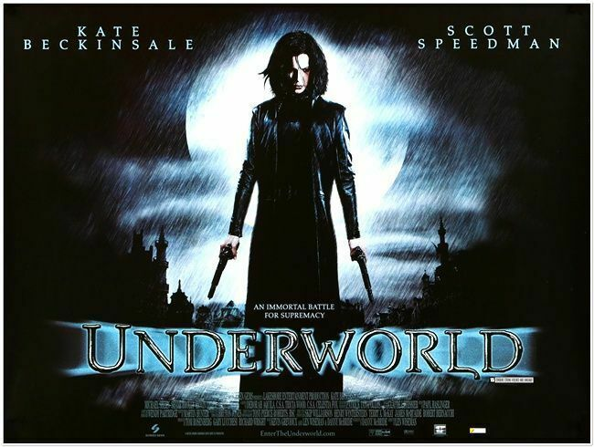 UNDERWORLD -2003 - Original 40 x 30 British Quad movie poster ...