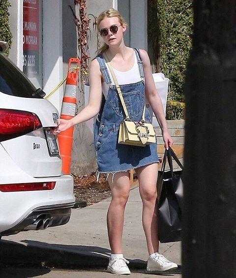 elle shopping in los angeles (september 7) #ellefanning