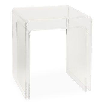 acrylic nesting tables- ZARA HOME - $190