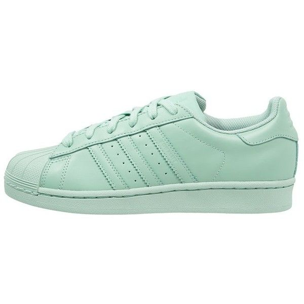 ... adidas Originals SUPERCOLOR SUPERSTAR Trainers blush ($105) ❤ liked on  Polyvore featuring shoes, ...
