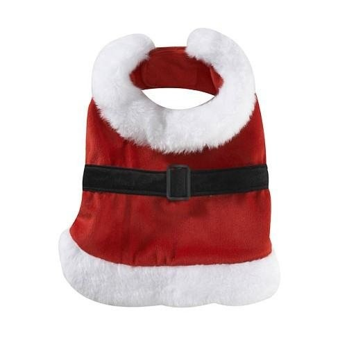$7.99-$14.99 Totally My Pet Dog Gear Santa Suit (Large) - Dog Santa Suit is an adorable outfit made for the stylish pup. Dress you dog up for the holidays and the Santa suit makes a prefect Halloween costume.  For proper fit: Measure dog from base of neck to base of tail. Depth of dog's chest should be considered. Deeper-chested dogs should use one size up.Size: Large (15in to 17in) http://www.amazon.com/dp/B002ZKN550/?tag=pin2pet-20