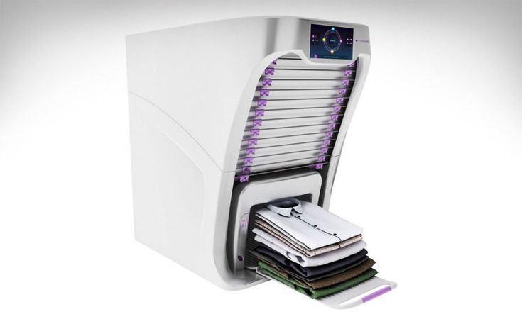 FoldiMate : La machine qui repasse votre linge automatiquement - #HighTech - Visit the website to see all photos http://www.arkko.fr/foldimate-machine-repassage-automatique/
