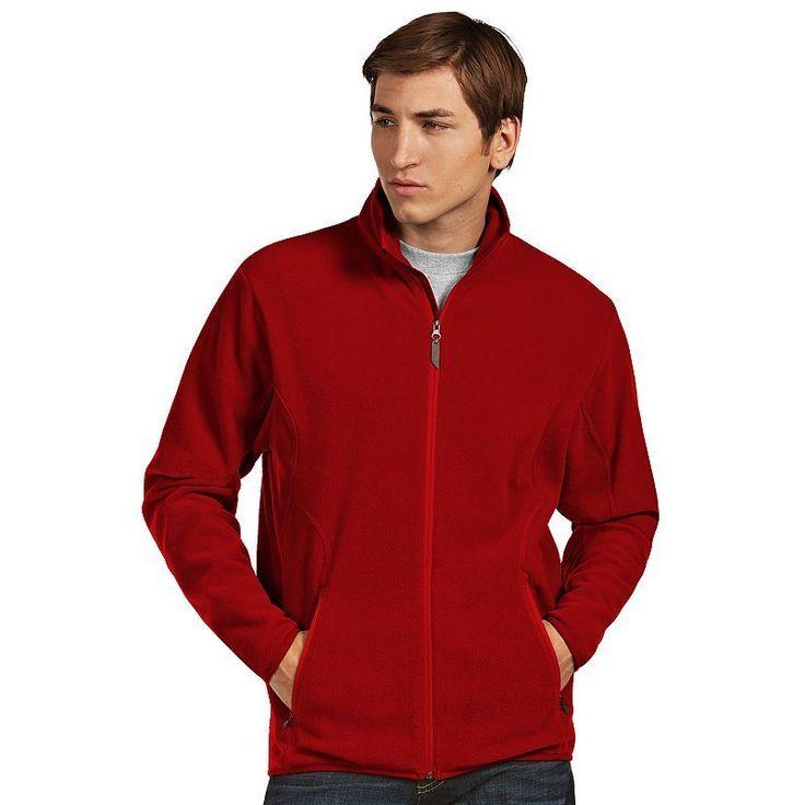 Men's Antigua Ice Polar Fleece Jacket, Size: