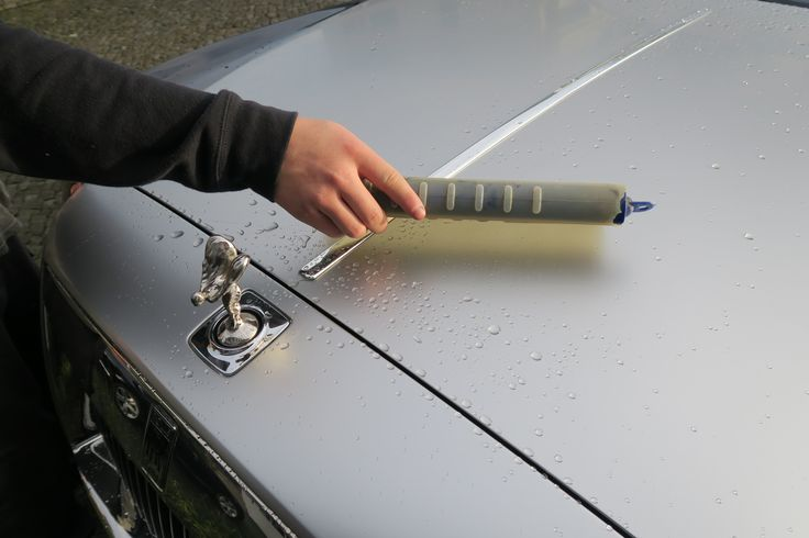 Wagenpflege für Rolls Royce