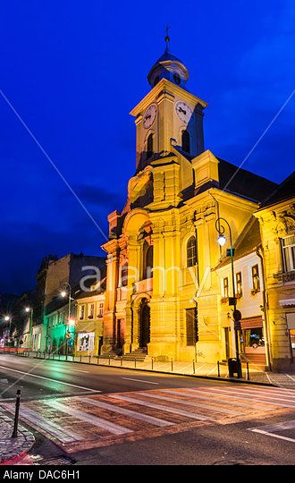Hungarian cathedral of St. Peter and Paul in Brasov, was erected during 1776-1882 on the ruins of a church.
