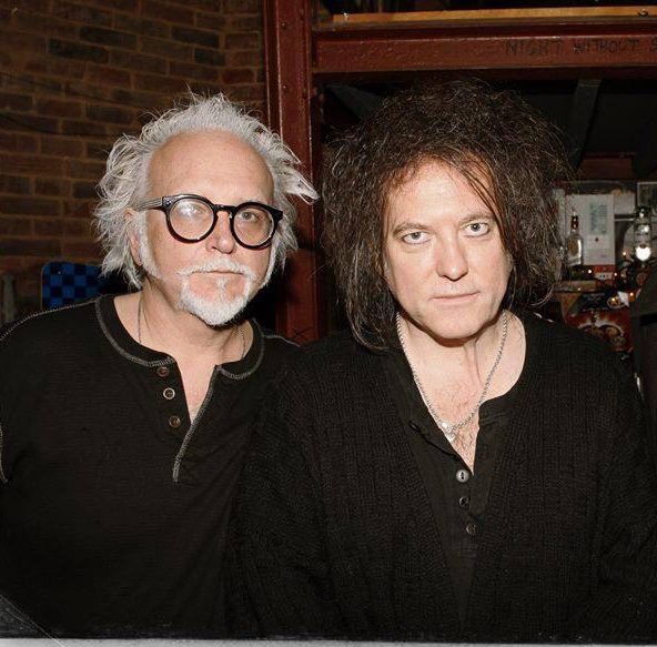 Reeves Gabrels and Robert Smith last week in London.