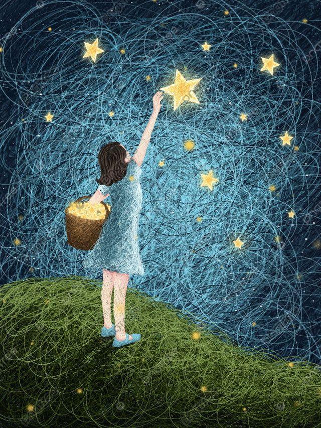 نجوم لفائف مع صور خلفيات من خلفيات النجوم صورة توضيحية على Pngtree غير محفوظة الحقوق Star Illustration Wallpaper Illustration