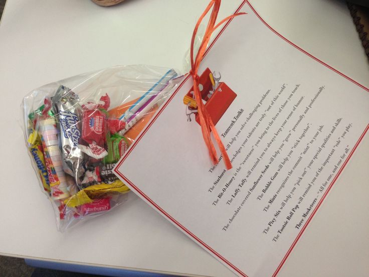 Teamwork Toolkit! We did this for our employee recognition celebration! Love it!! It was a fantastic hit!