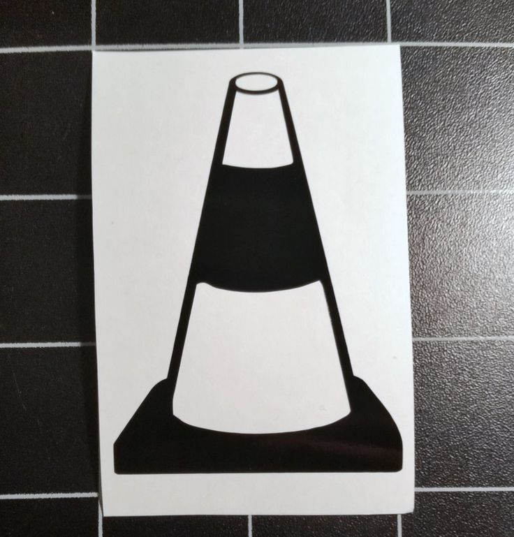 JDM Road Cone Decal