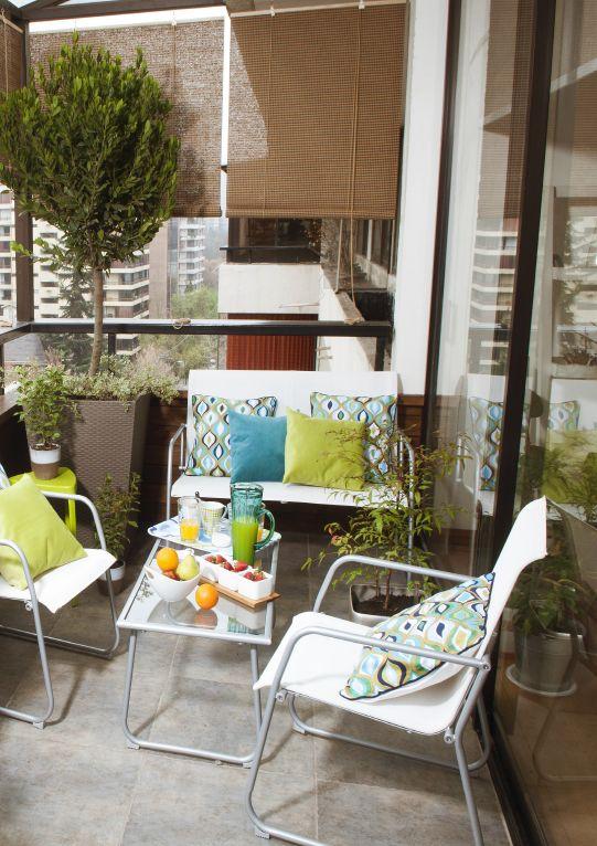 ¡No importa si es un balcón! También puedes disfrutar tu jardín perfecto en espacios pequeños como éste. Sólo debes agregarle los accesorios precisos. #MiJardínPerfecto  #Primavera  #Deco #Terraza # #Hogar #easychile #easytienda #easy #Concurso #Jardín #Balcón