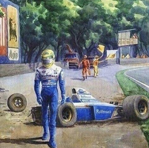 If Only Senna Had Walked Away From The Crash Just What Might Of