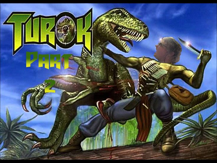 Jake Plays | Turok Dinosaur Hunter part 2 : How to kill dino bugs