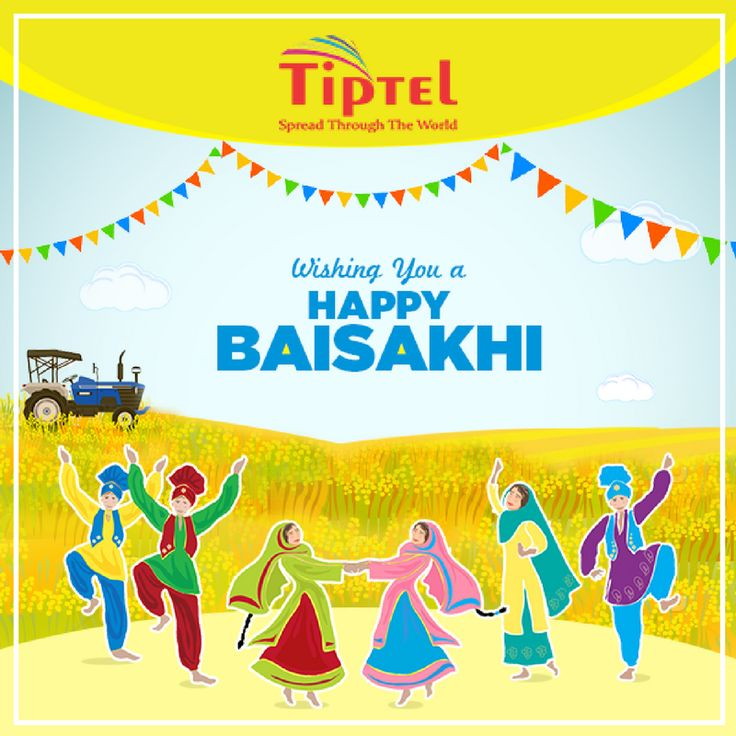 Baishakhi  is a historical and religious festival in Sikhism and Hinduism. Tiptel Mobile India wishes you  #HappyBaisakhi !!! May this auspicious festival bring joy, happiness and prosperity to all !!!   #HinduSolarNewYear, #SikhNewYear, #Harvestfestival, #birthoftheKhalsa,#Parades  #NagarKirtan, #Fairs, #AmritSanchaar #Khalsa www.tiptel.in