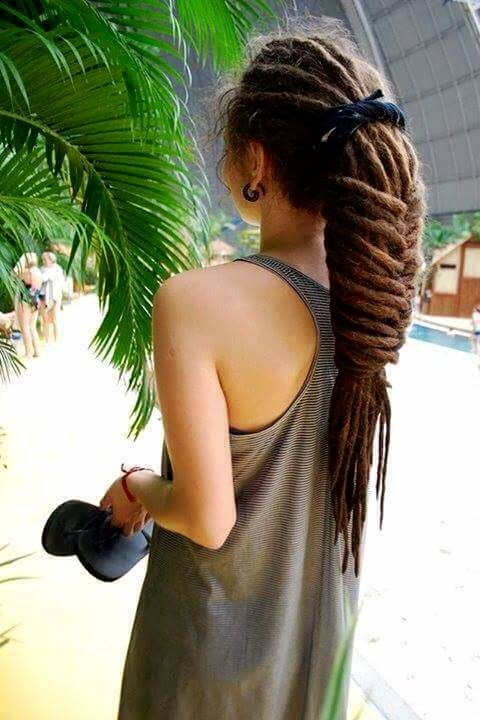 This dread hairstyle slays!!  #Dreads