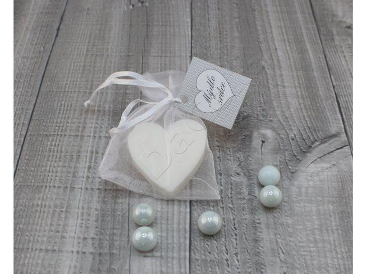Luxusní mýdlo srdce 24g