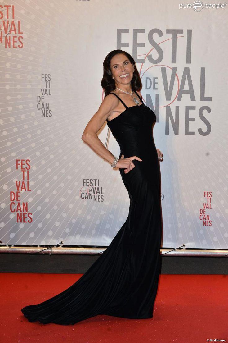Mouna Ayoub at the Film Festival de Cannes, 2013.