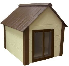 Dog owners of the extra large breeds understand the special requirement for the larger breeds in terms of shelter they often overwhelm an indoors area. This extra large insulated doghouse is ideal for the larger breeds by providing comfort year round.