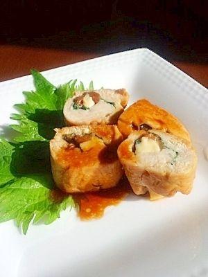 ボクサーも減量で食べる★鶏ささみで梅しそチーズ巻き レシピ・作り方 by xguricox|楽天レシピ