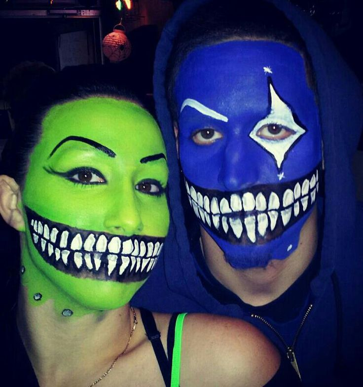 how to do creepy smile makeup
