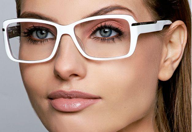 Oculos branco.. Perfeito!