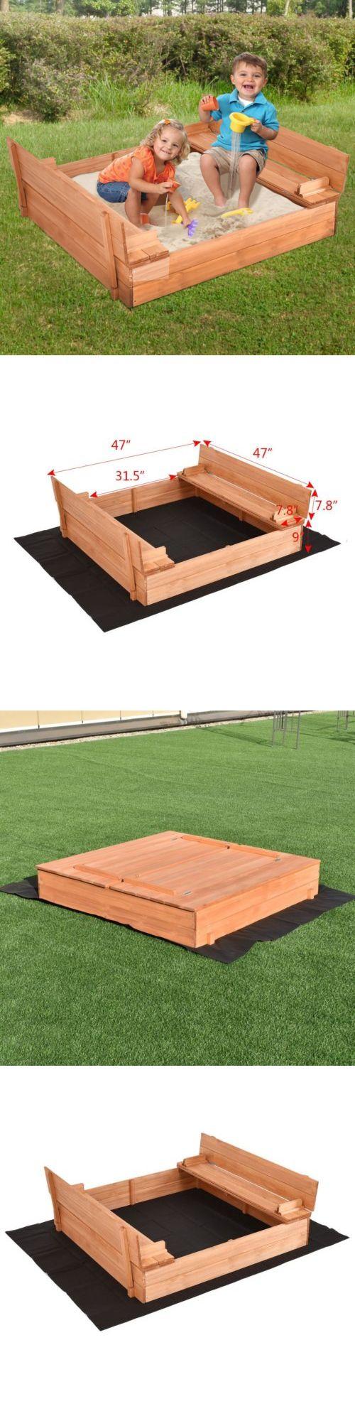 best 25 wooden sandbox ideas on pinterest sandbox with lid