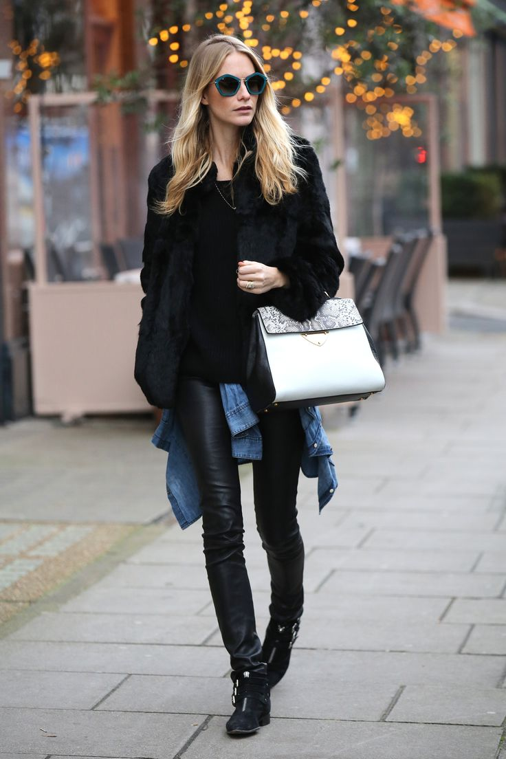 How to Stay Warm in Style This Winter | Poppy Delevingne | Harper's Bazaar