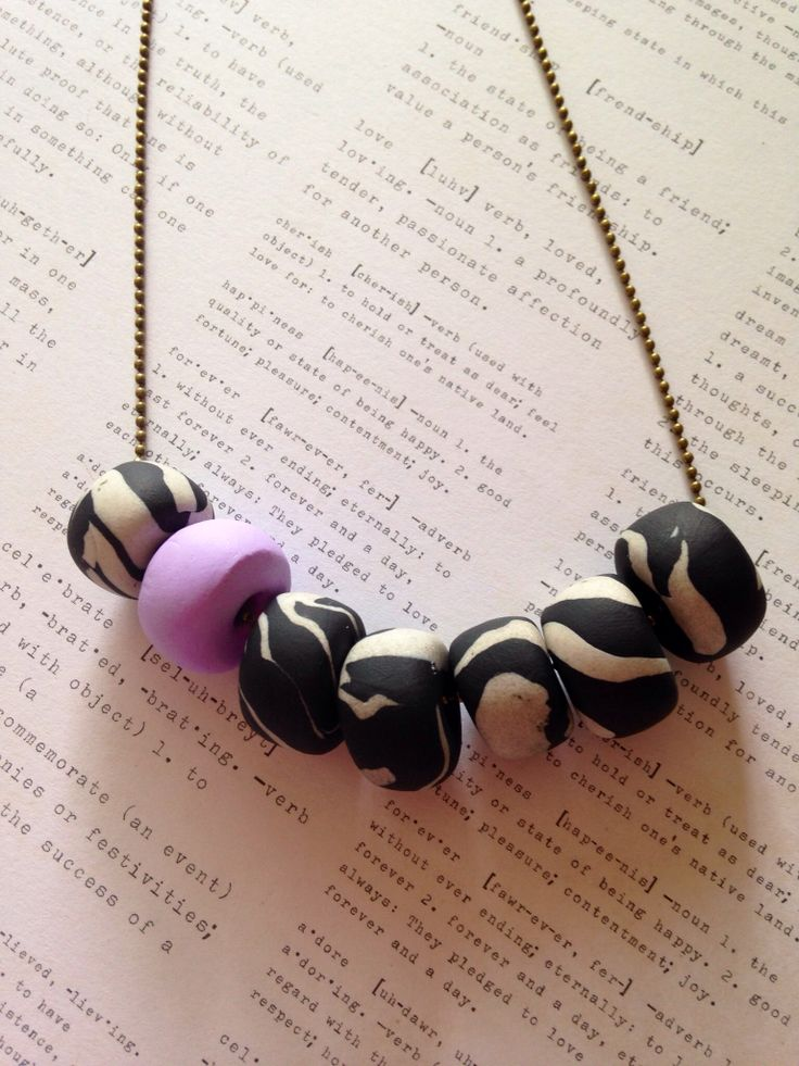 Colour Pop Marble Necklace - Lavender, on a ball chain. $30 (+postage)