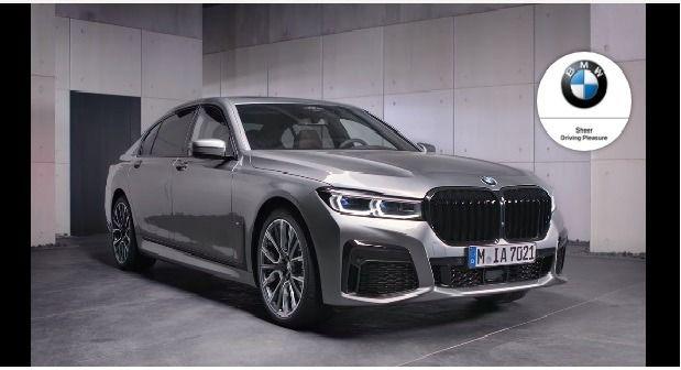 Bmw بي ام دبليو تكشف عن أحدث سيارتها 7 Series وأحدث تطبيق لمشغل السيارة وأسعار سيارة Bmw Car Bmw Bmw Car
