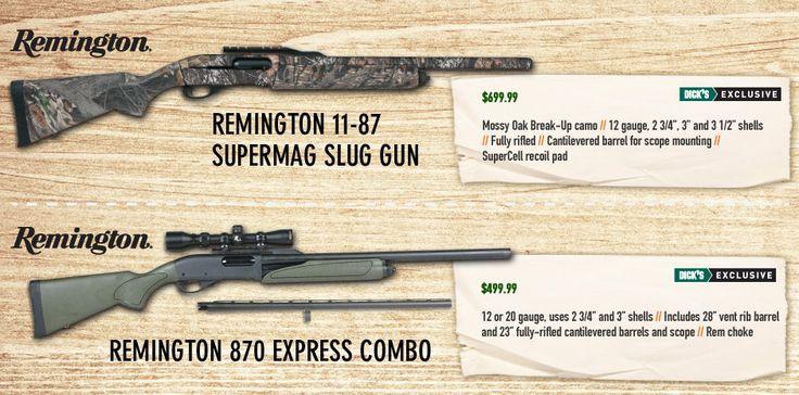 GunsAmmo_BigGameShotguns Dick's Sporting Goods