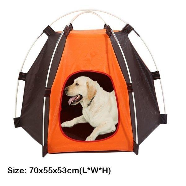 70cmx55cmx53cm Soft Dog House For Large Dogs Portable Foldable Dog