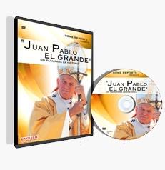 JUAN PABLO EL GRANDE: Un Papa para la Historia http://www.romereports.com/pg154-shop-es Juan Pablo El Grande: Un Papa para la Historia