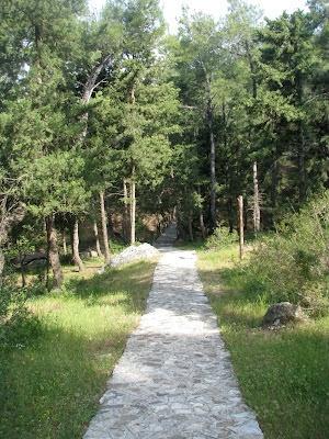 Konidario Recreational Area, on the island of Kos in Greece
