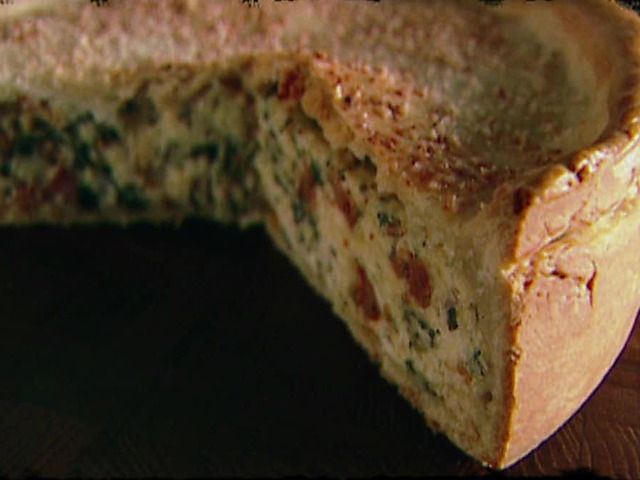 Giada's Pizza Rustica Video : Food Network