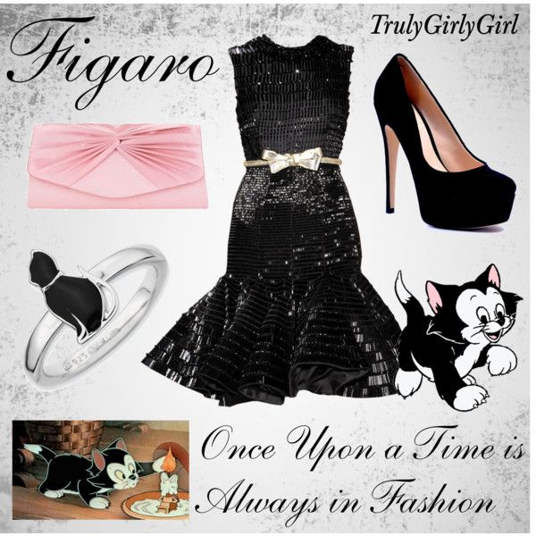 Disney Style: Figaro, created by trulygirlygirl on Polyvore