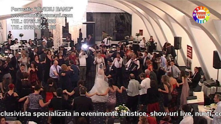 """FANITA MODORAN si """"OVIDIU BAND"""" - Colaj Hore de nunta - Muzica de Petrec..."""