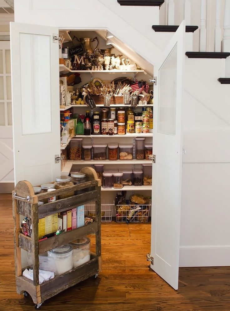 ZsaZsa Bellagio – Like No Other: A GLAMOROUS Custom Kitchen Tour ///baking cart out of reclaimed wood