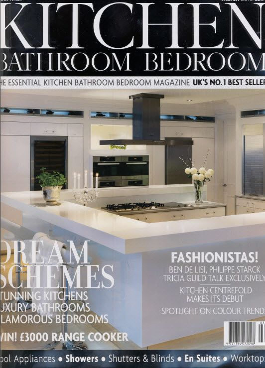Our Kitchen Design Hits The Front Page Of English Lifestyle Monthly Magazine Bathr Best Ideas Featured In Press Or Award Winning