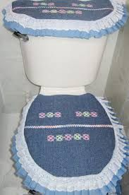 Resultado de imagen para juegos de baño bordados con cintas