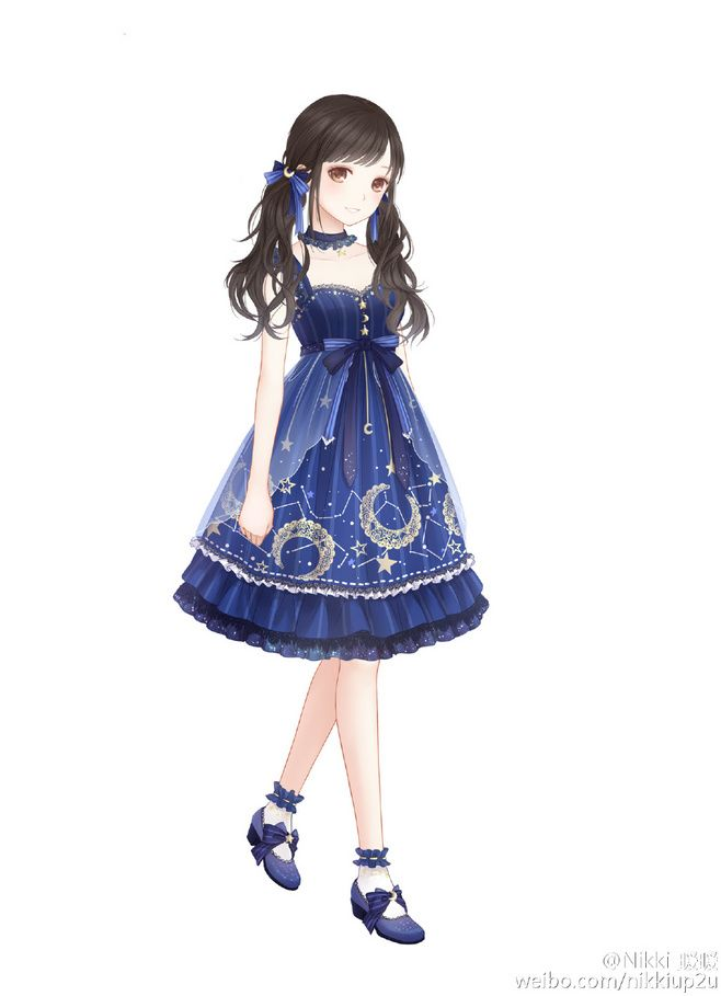 1000 Ideas About Anime Girl Dress On Pinterest Pretty