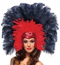 Image of Vegas Showgirl Costume Headpiece - Showgirl Costumes