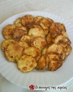 Τα τέλεια τηγανιτά κολοκυθάκια #sintagespareas