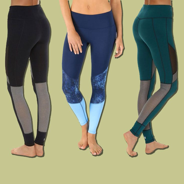 The best colorblock workout leggings that will flatter any shape